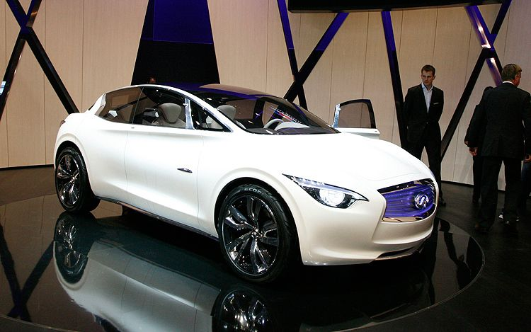 Infiniti Etherea Concept Front Three Quarters1
