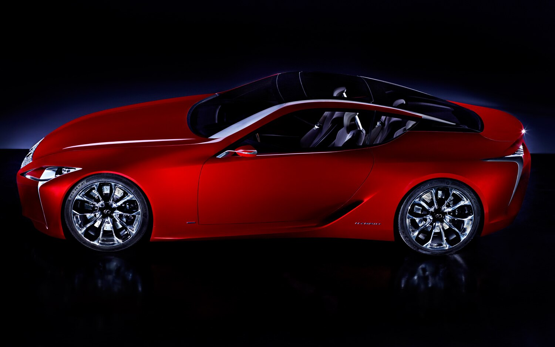 Lexus LF LC Concept Profile2