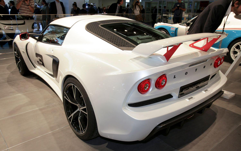 Lotus Exige S Rear Three Quarters1