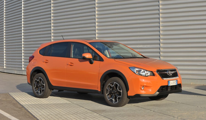 Subaru XV Front Three Quarter