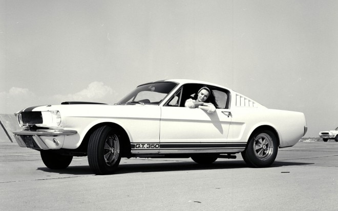 1965 Ford Shelby GT350 Mustang Front Three Quarters View 21 660x413