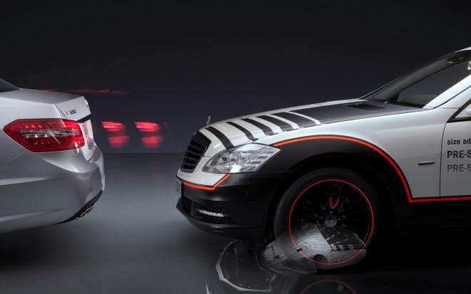 2009 Mercedes Benz E550 Pre Safe Demo1 660x413