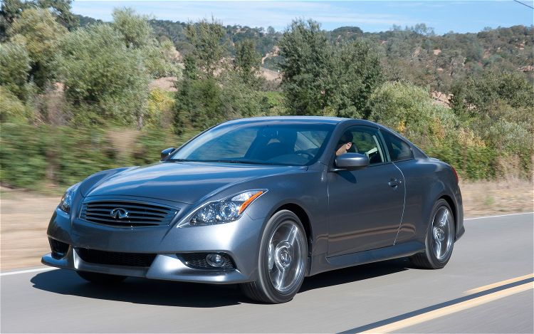 2011 Infiniti G37 Coupe Ipl Front Left Side View1