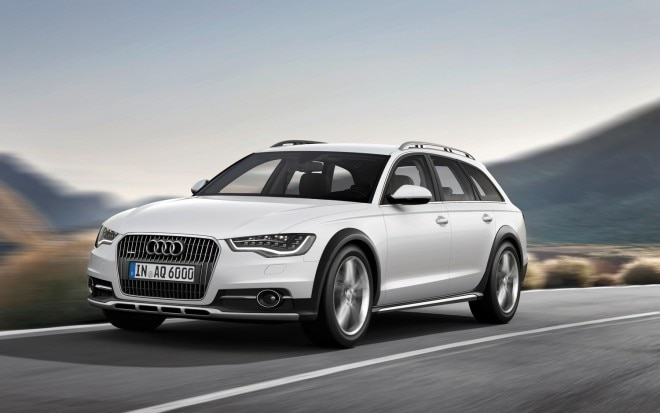 2012 Audi A6 Allroad Front Three Quarter In Motion1 660x413