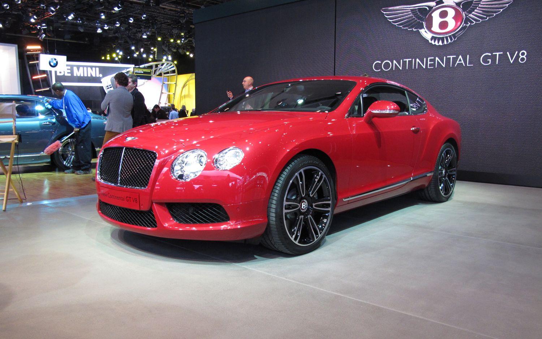 2012 Bentley Continental GT V8 Front Three Quarter1