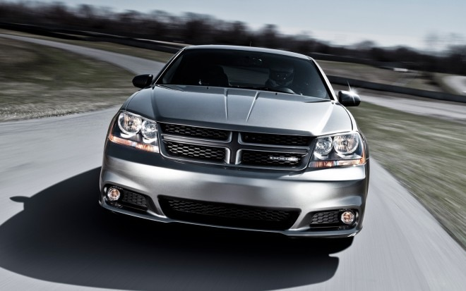 2012 Dodge Avenger RT Front1 660x413