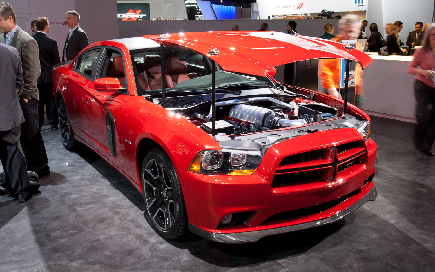 2012 Dodge Charger Redline Front Three Quarters View12
