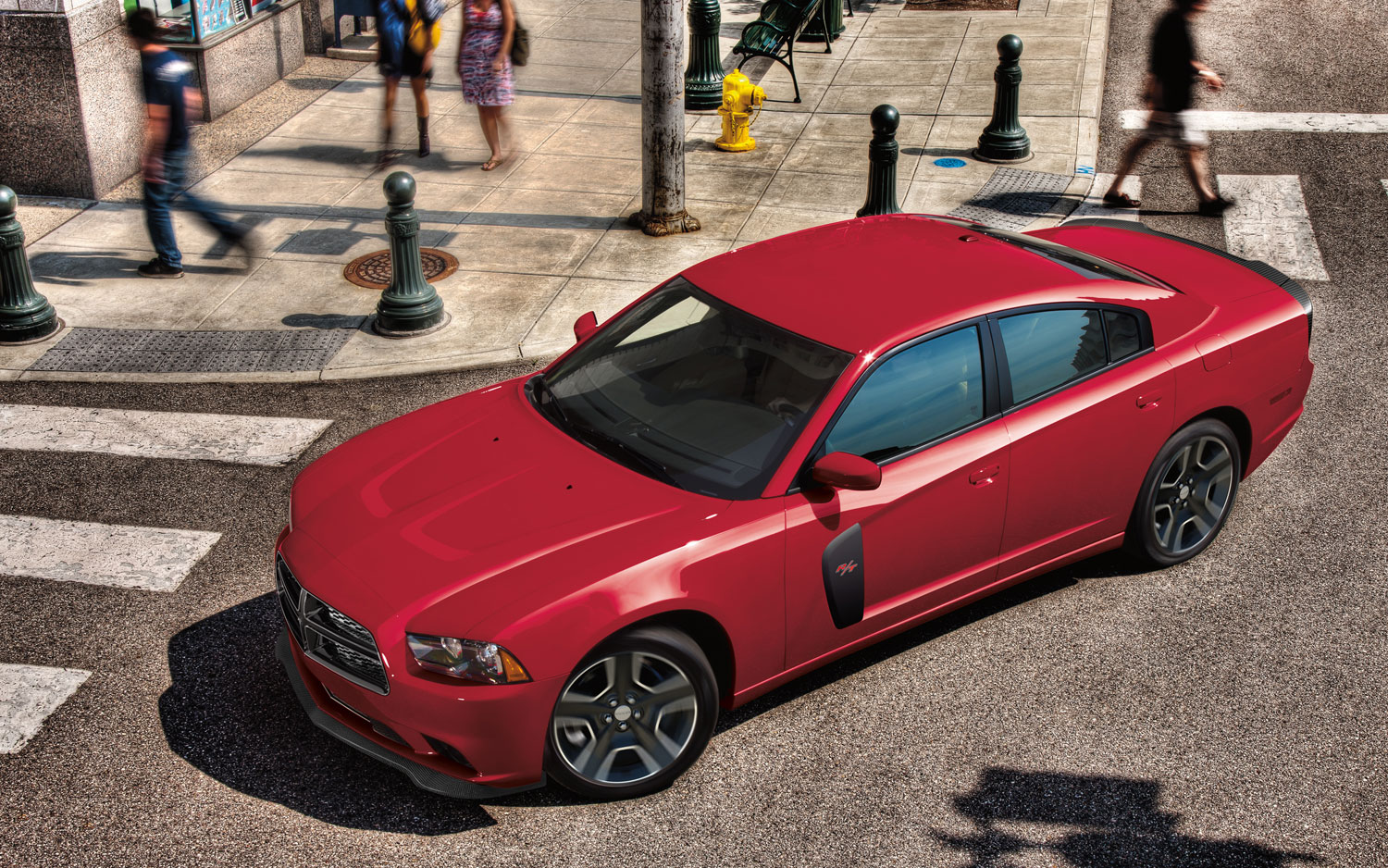 2012 Dodge Charger Redline Front Three Quarters View3