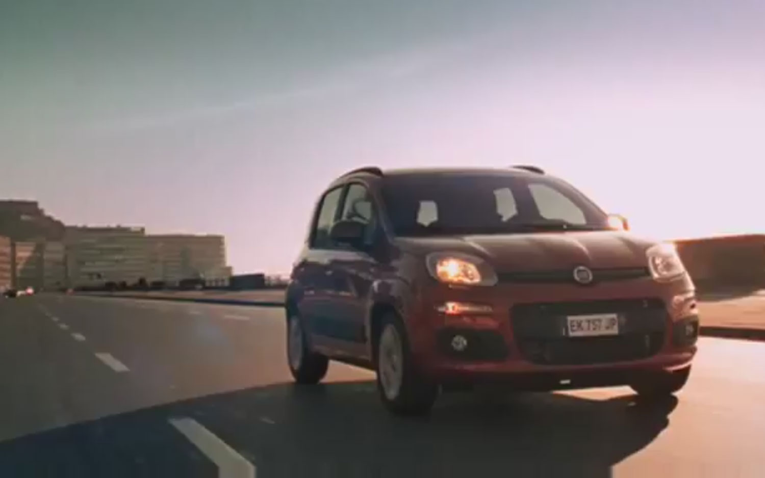 2012 Fiat Panda Front Three Commercial1