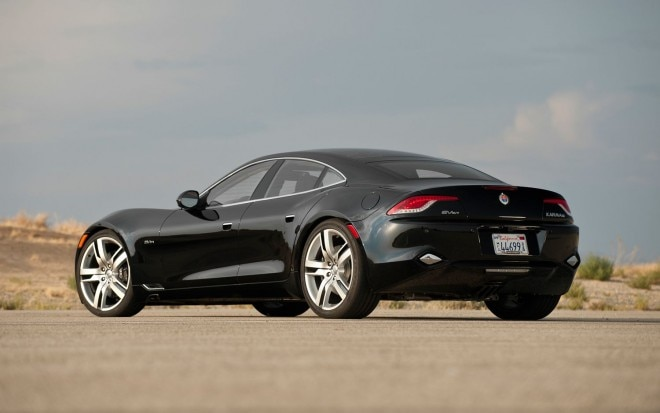 2012 Fisker Karma Pre Production Rear Three Quarters1 660x413
