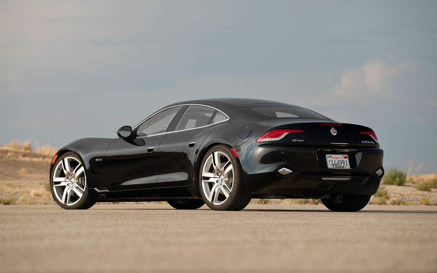2012 Fisker Karma Pre Production Rear Three Quarters1