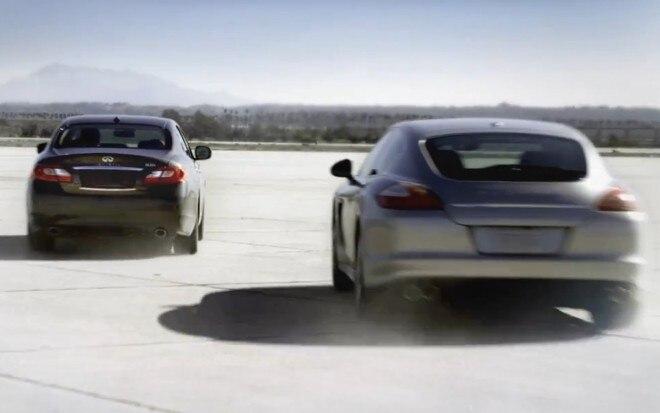 2012 Infiniti M35h Vs 2012 Porsche Panamera S Hybrid 660x413