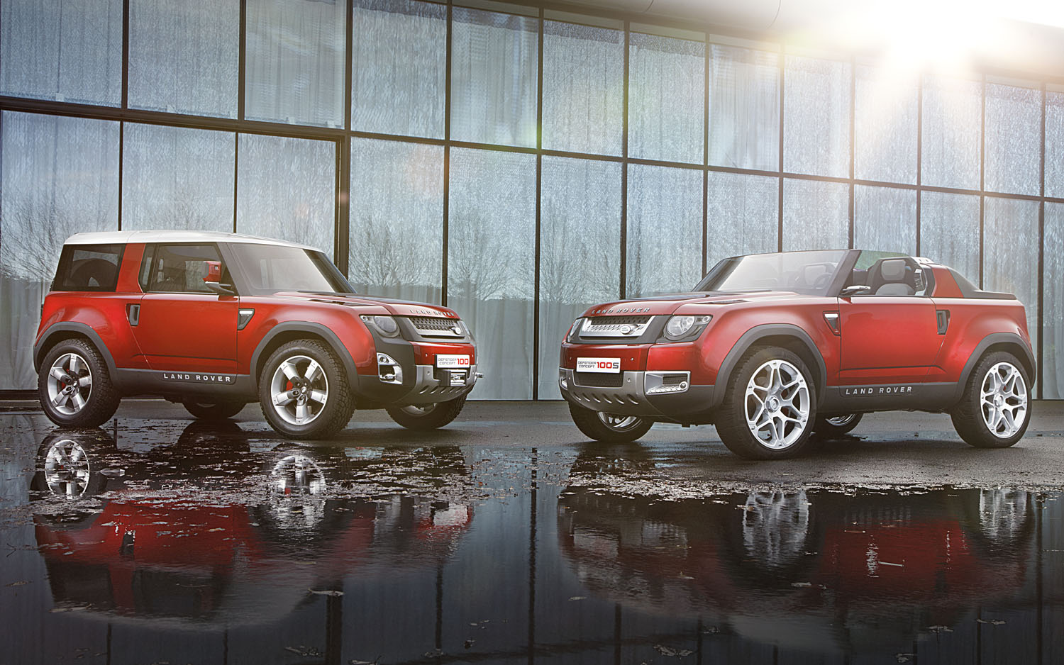2012 Land Rover DC100 Concept Red Two Up1