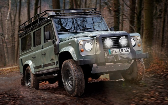 2012 Land Rover Defender Blaser Edition Front Three Quarter1 660x413