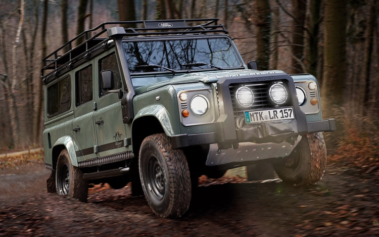 2012 Land Rover Defender Blaser Edition Front Three Quarter1