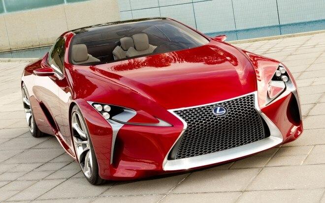 2012 Lexus LF LC Concept Front Three Quarter1 660x413