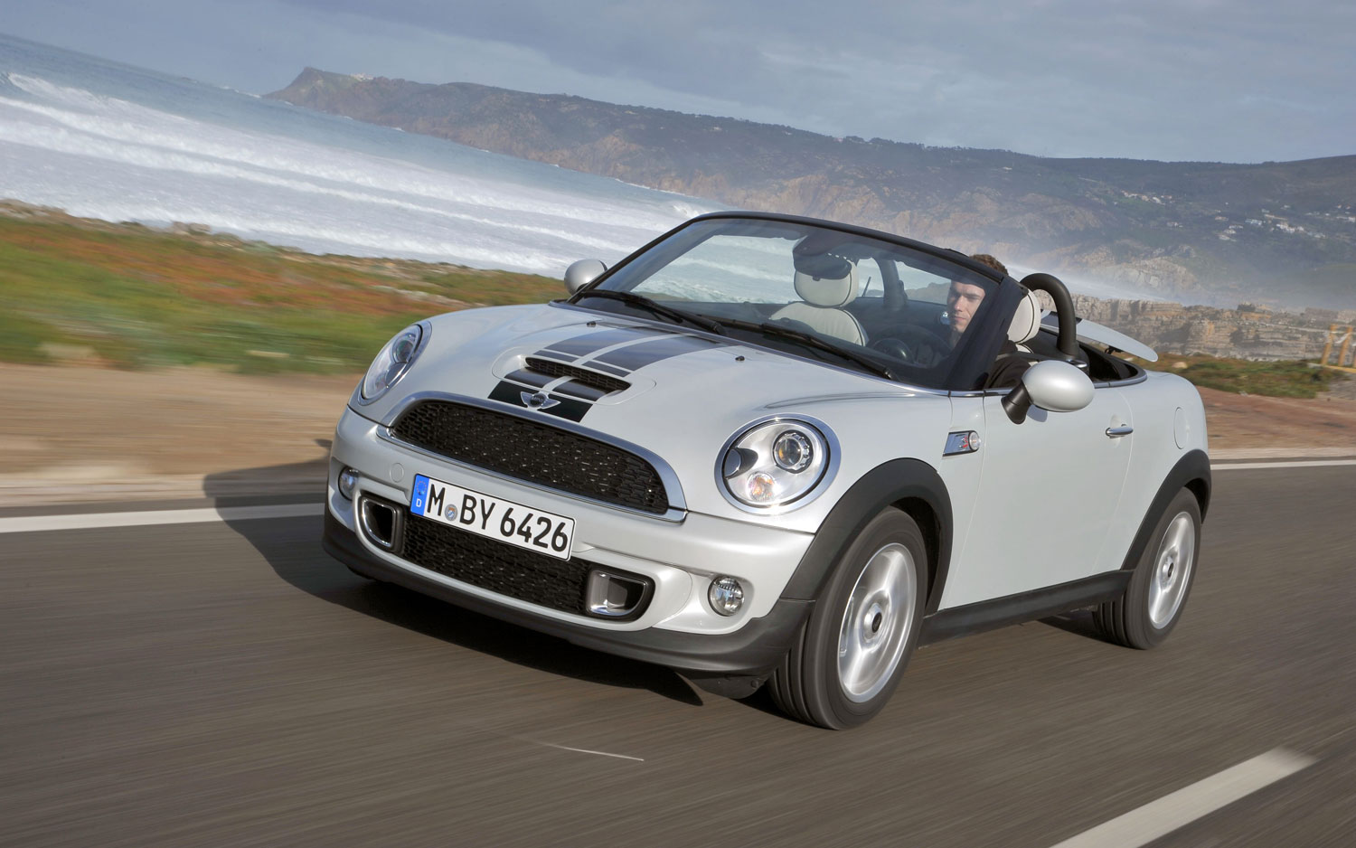2012 Mini Roadster Front Three In Motion1