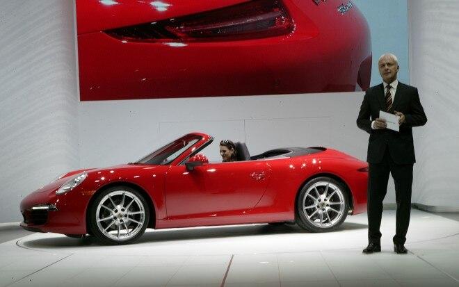 2012 Porsche 911 Cabriolet S Side