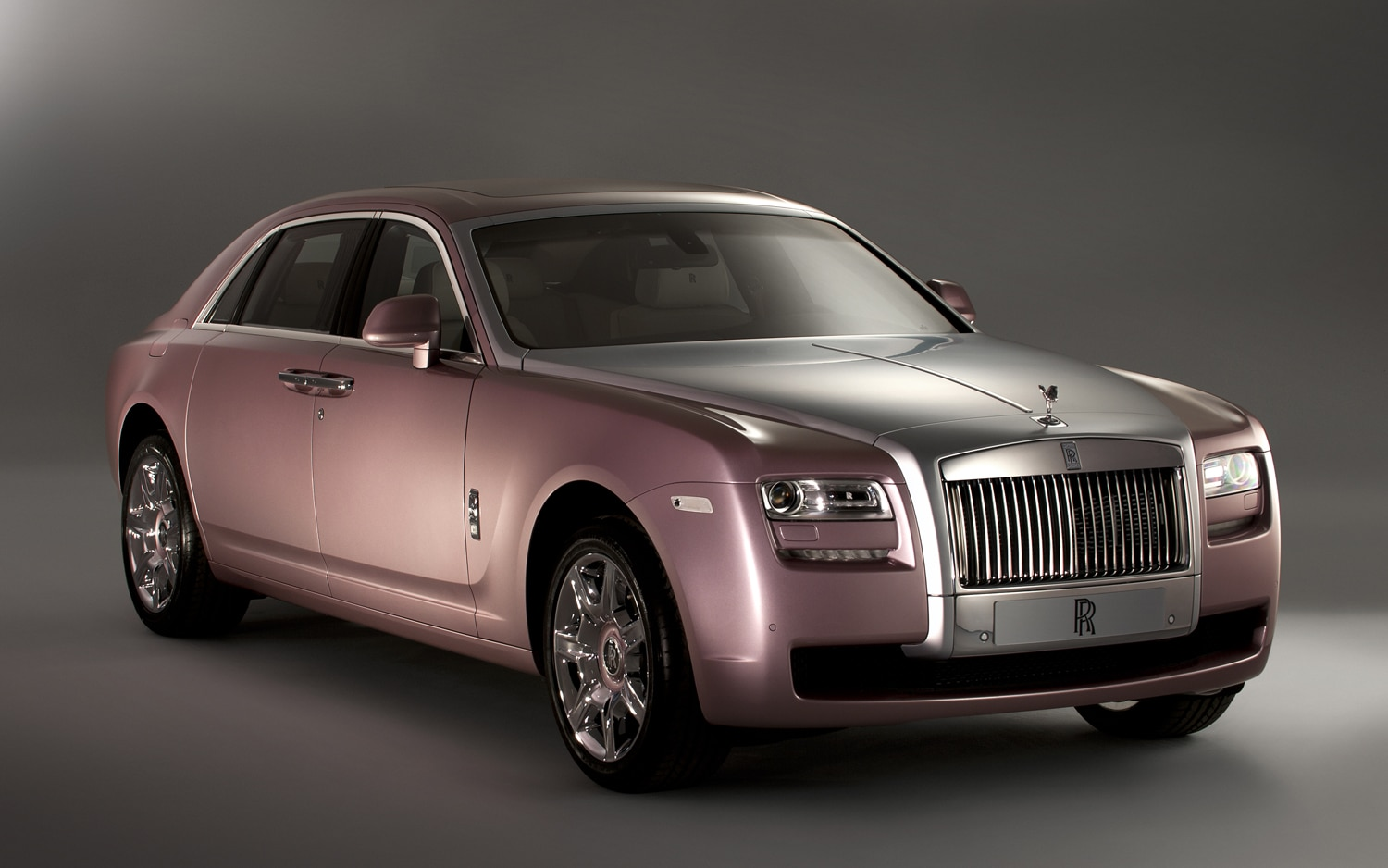 2012 Rolls Royce Ghost Custom Front Three Quarter1