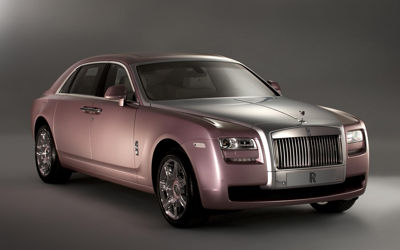 2012 Rolls Royce Ghost Custom Front Three Quarter1