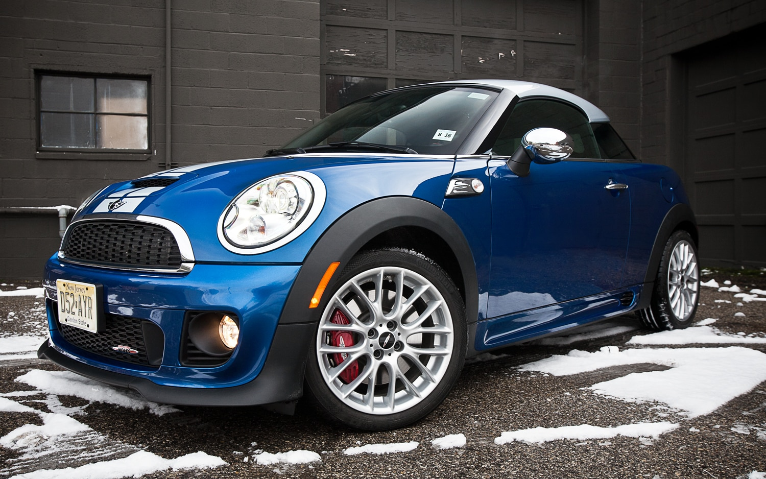 2012 Mini John Cooper Works Cooper Coupe Front Left View1
