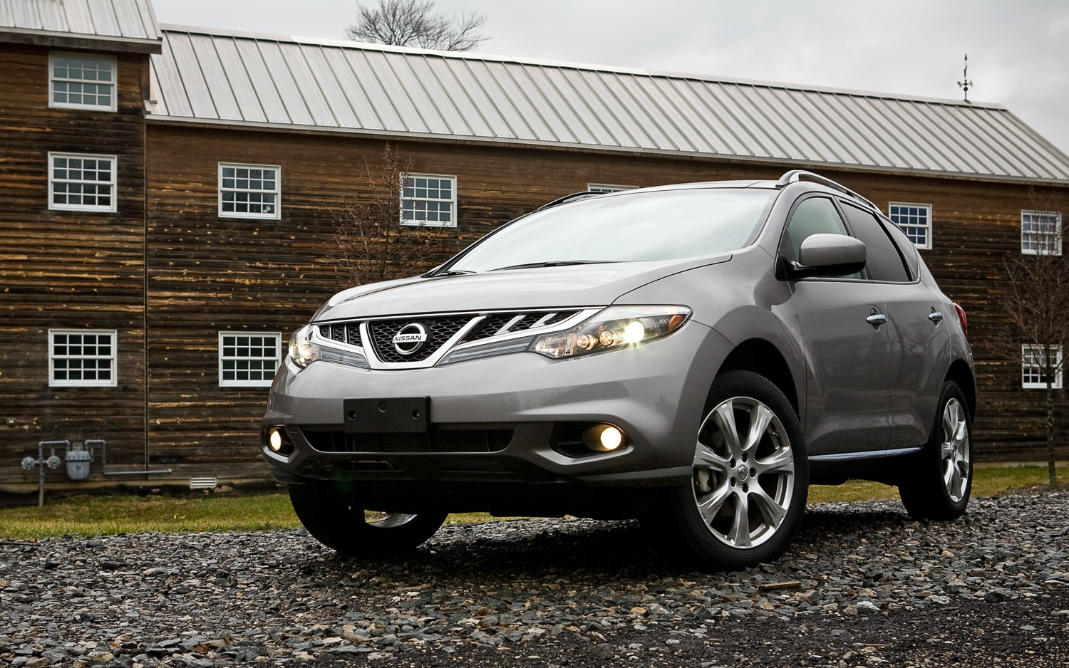 2012 Nissan Murano LE AWD Front Left View