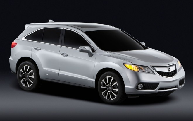 2013 Acura RDX Front Three Quarters View1 660x413