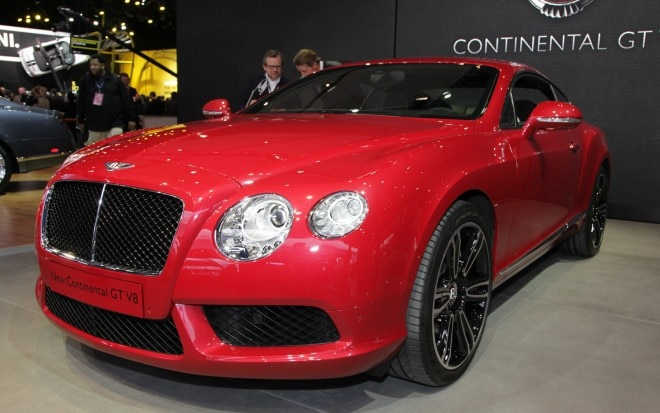 2013 Bentley Continental GT V 8 Front View1 660x413