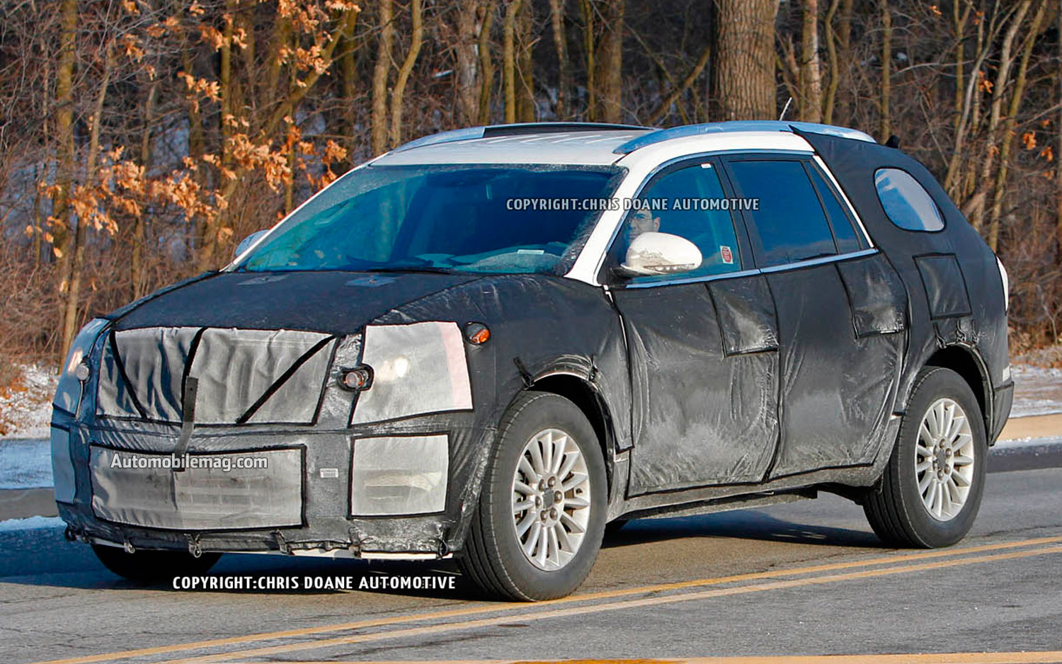 2013 Buick Enclave Prototype Spied1