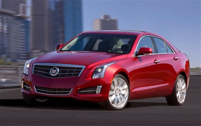 2013 Cadillac ATS Front Three Quarters 21 660x413