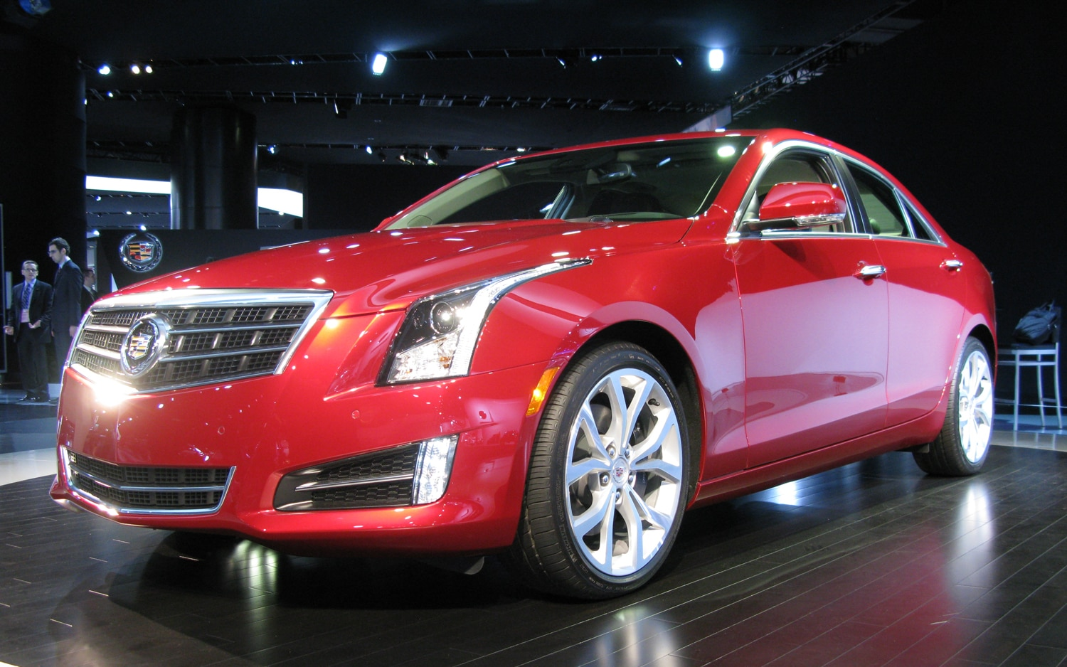 2013 Cadillac ATS Front Three Quarters1