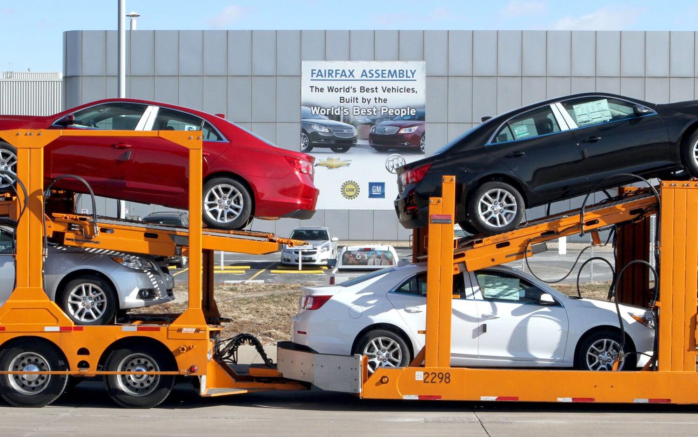 2013 Chevrolet Malibu Delivery Truck Fairfax Plant1