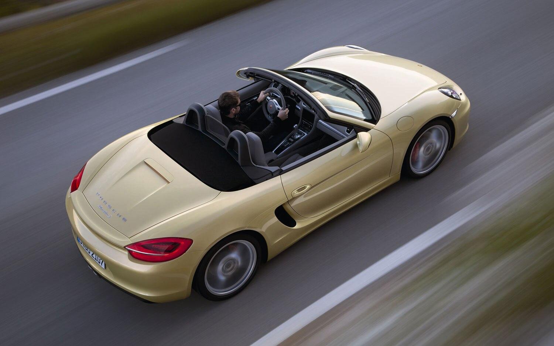 2013 Porsche Boxster Top View1