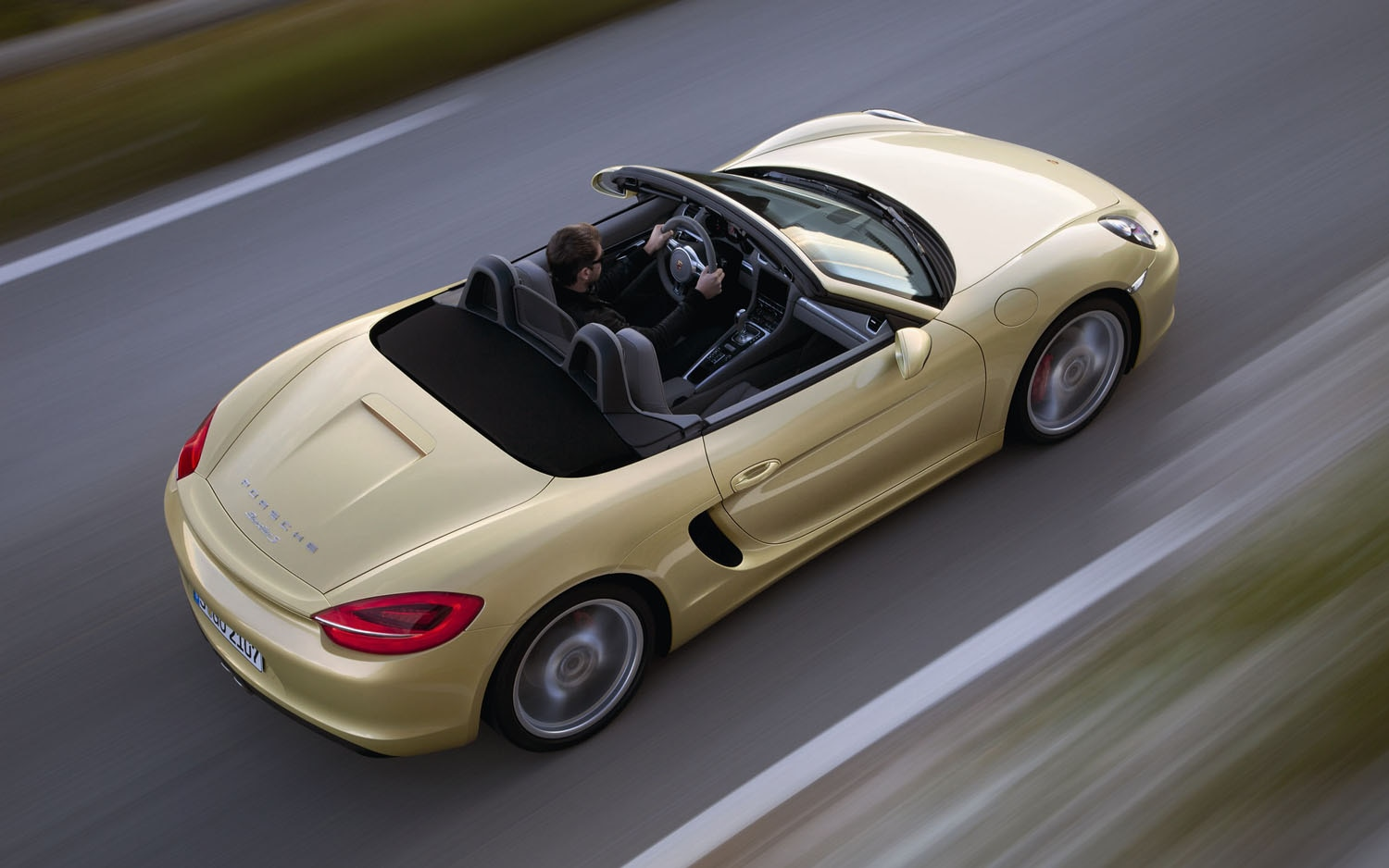 2013 Porsche Boxster Rear Three Quarter1
