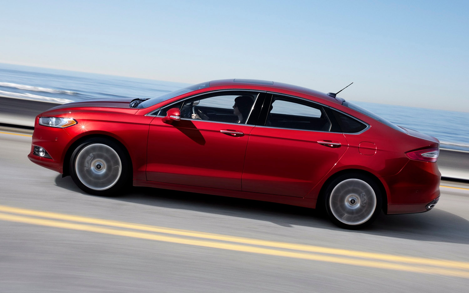 2013 ford fusion se review notes autoweek. Black Bedroom Furniture Sets. Home Design Ideas