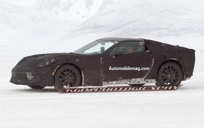 2014 Chevrolet Corvette C7 Spied Front Three Quarter Driving1 660x413