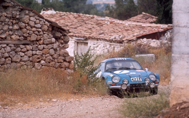 Alpine Renault A110 In Rally1 660x413