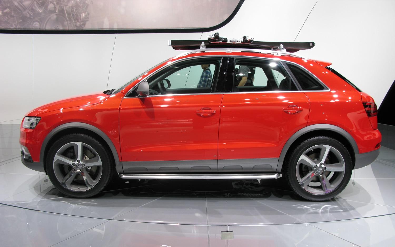 Audi Q3 Vail Concept Side
