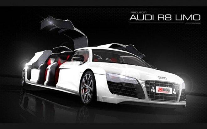 Audi R8 Limo Front Three Quarter1 660x413
