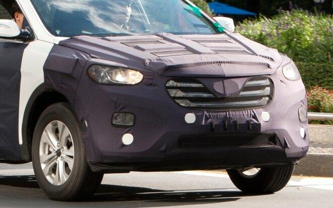 Hyundai Santa Fe Spy Photo 660x413