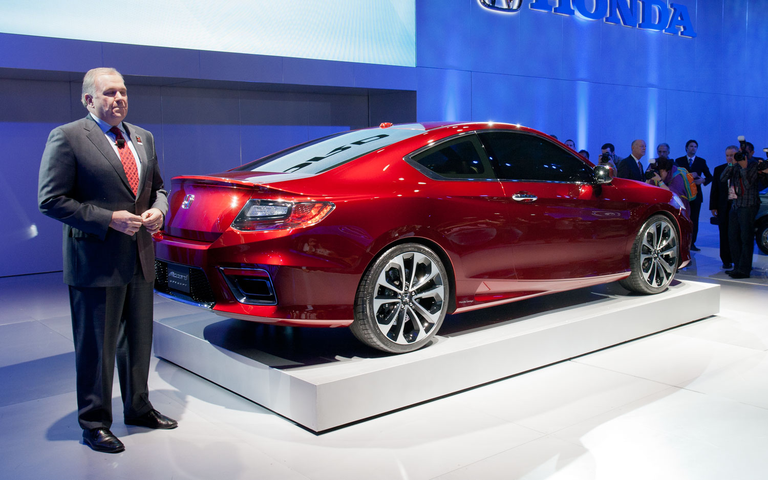 John Mendel And 2013 Honda Accord Coupe Concept1