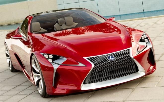 Lexus LF LC Concept Front Three Quarter11 660x413