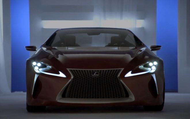 Lexus LF LC Concept Front1 660x413