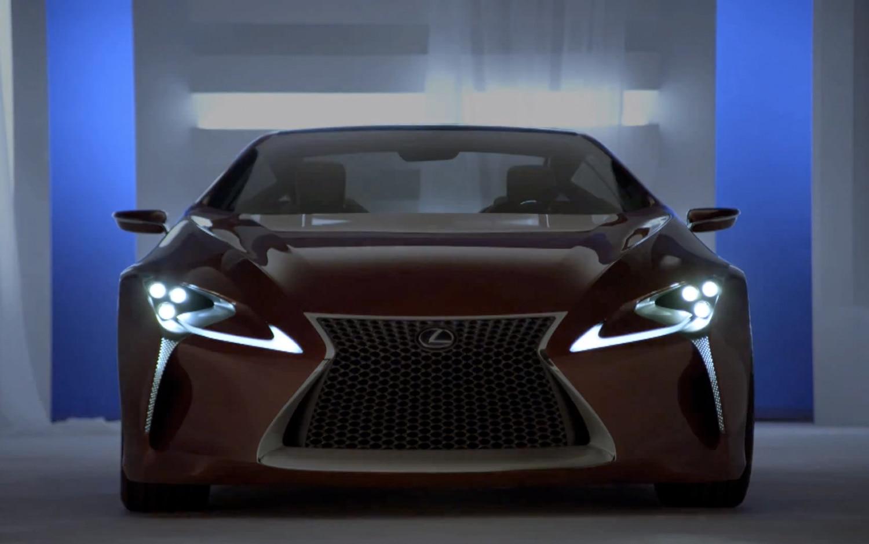 Lexus LF LC Concept Front1