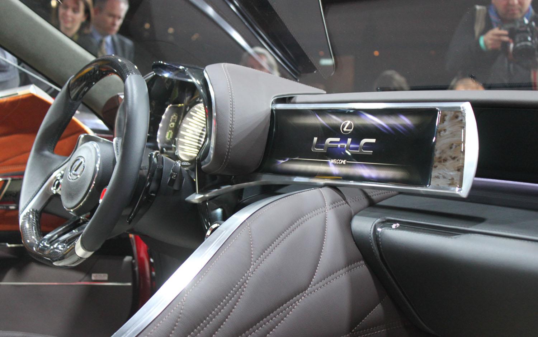 Lexus Lf Lc Price >> Detroit 2012: Lexus' LF-LC Concept Shows its (Distinctive ...