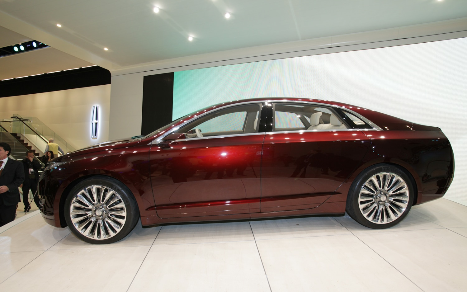 Lincoln MKZ Concept Side