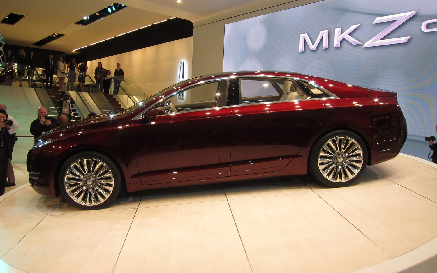 Lincoln MKZ Concept Profile 21