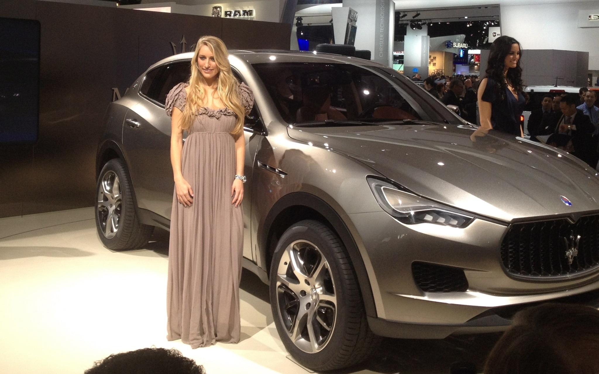 Maserati Kubang Booth Babe1