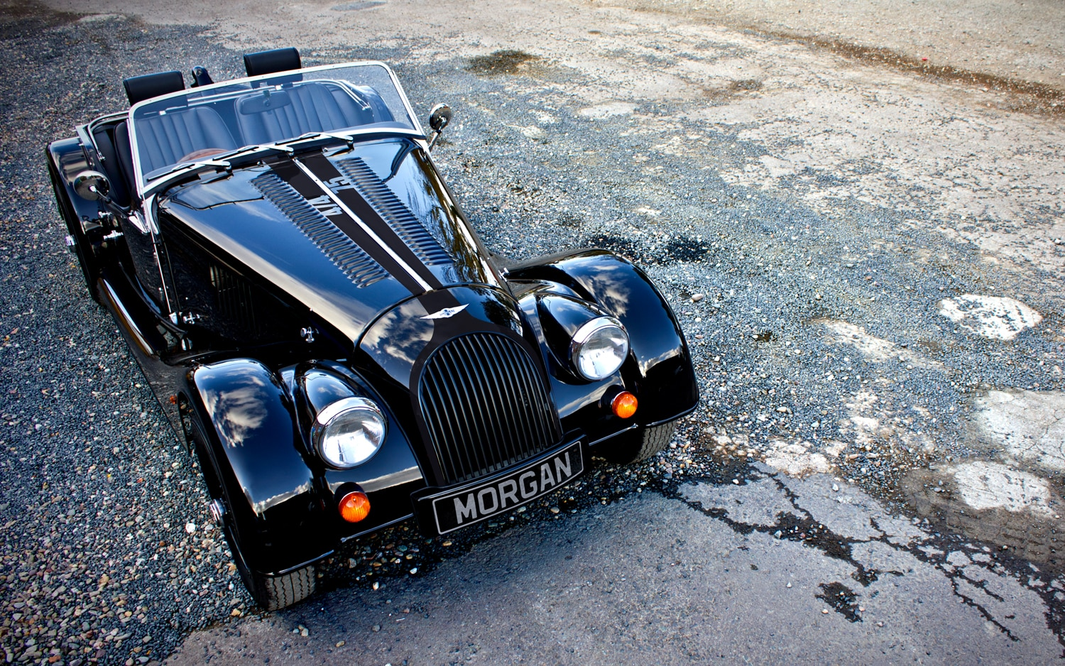 Morgan 44 75th Anniversary Edition Front Three Quarter1