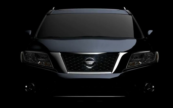 Nissan Pathfinder Concept Preview Front End1 660x413
